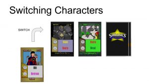 Switching Character Cards