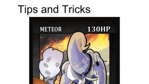 Tips and Tricks for Meteor Character Card